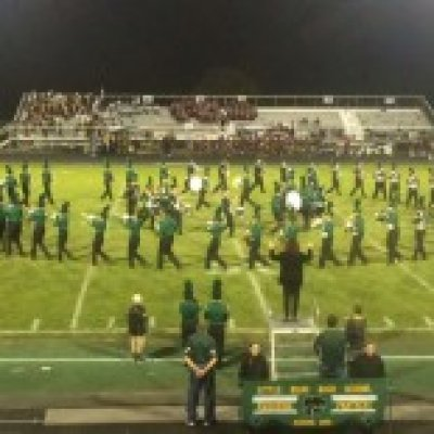 Band Formation on Football Field