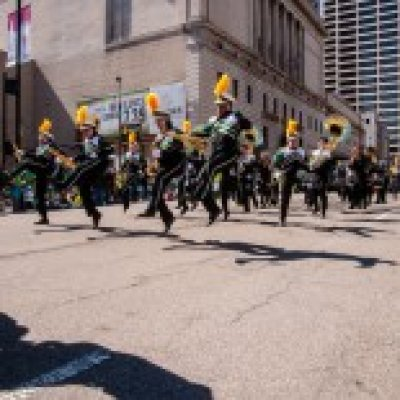 Marching band in Parade
