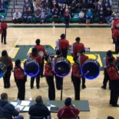 Band in gym at Band Festival