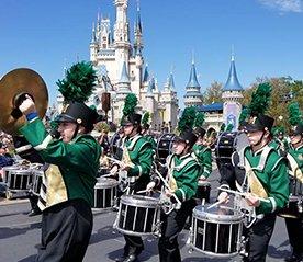 Marching Band at Disney World